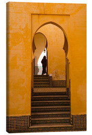 Canvas print  Mausoleum of Moulay Ismail, Meknes, Morocco - Marco Cristofori
