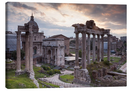 Canvas print  Roman Forum (Foro Romano) - Julian Elliott