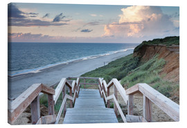 Canvas print  Red Cliff near Kampen, Sylt - Markus Lange