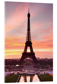 Acrylic print  Eiffel Tower at sunrise - Markus Lange