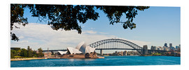 Foam board print  Sydney Opera House - Matthew Williams-Ellis