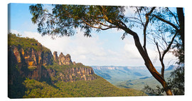 Canvas print  Panoramic photo of the Three Sisters - Matthew Williams-Ellis