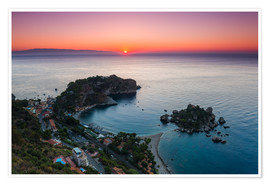 Premium poster  Isola Bella at sunrise - Matthew Williams-Ellis
