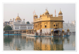 Premium poster  The Harmandir Sahib - Alex Robinson
