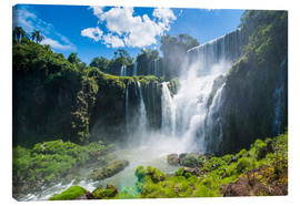 Canvas print  Waterfalls Foz de Iguazu - Michael Runkel