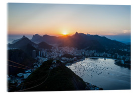 Acrylic print  View from the Sugarloaf - Michael Runkel