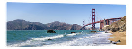 Acrylic print  San Francisco Panorama - Jan Christopher Becke
