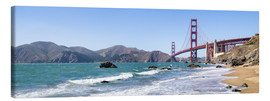 Canvas print  San Francisco Panorama - Jan Christopher Becke