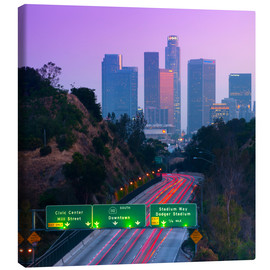 Canvas print  Route 110, Los Angeles, California, United States - Alan Copson