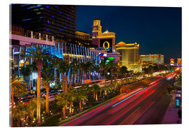 Acrylic print  The Strip, Las Vegas, Nevada, United States of America, North America - Alan Copson