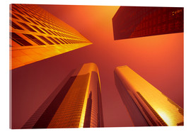 Acrylic print  Downtown, Los Angeles, California, United States of America, North America - Alan Copson