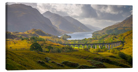 Canvas print  Glenfinnan Railway Viaduct - Alan Copson