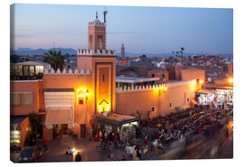 Canvas print  Jemaa El Fna, Marrakesh - Frank Fell