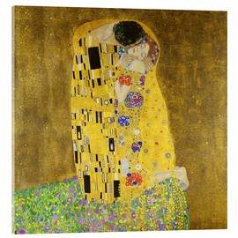 Acrylic print  The kiss - Gustav Klimt