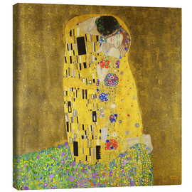 Canvas  The kiss - Gustav Klimt