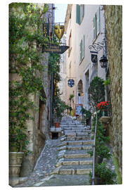 Canvas print  Alley in Saint-Paul-de-Vence - Stuart Black