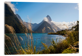 Acrylic glass  Mitre Peak, Milford Sound - Matthew Williams-Ellis