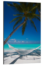 Aluminium print  Hammock on a tropical beach - Sakis Papadopoulos