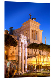 Acrylic glass  Forum Romanum - Ian Trower