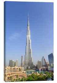 Canvas print  Burj Khalifa - Amanda Hall