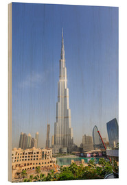 Wood  Burj Khalifa - Amanda Hall