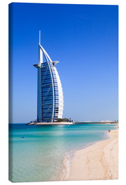 Canvas print  Burj Al Arab Hotel - Amanda Hall