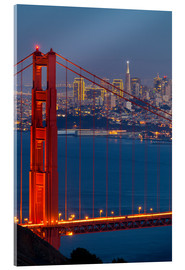 Acrylic print  Golden Gate Bridge - Miles Ertman