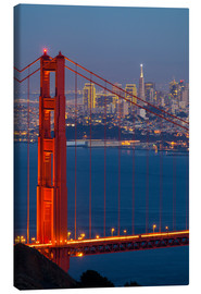 Canvas print  Golden Gate Bridge - Miles Ertman