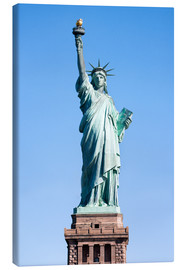 Canvas  Statue of Liberty in New York USA - Jan Christopher Becke