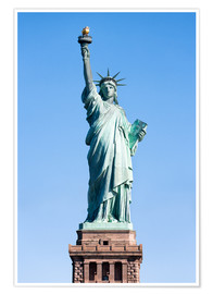 Premium poster Statue of Liberty in New York USA