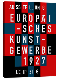 Canvas print  EUROPEAN ARTS AND CRAFTS IN 1927 - THE USUAL DESIGNERS