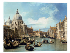 Bernardo Bellotto (Canaletto) - The entrance to the grand canal venice