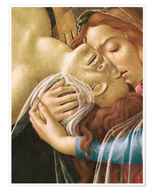 Premium poster The Lamentation of Christ (detail)