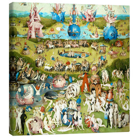 Canvas print  The Garden of Earthly Delights - Hieronymus Bosch
