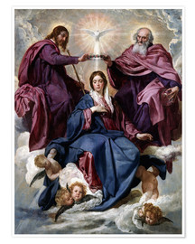 Premium poster Coronation of the Virgin