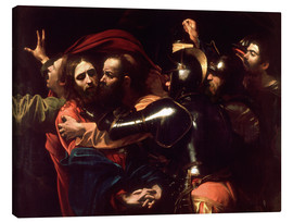 Canvas  Arrest of Christ - Michelangelo Merisi (Caravaggio)