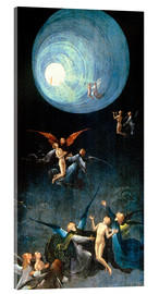 Acrylic glass  The Ascent to the Heavenly Paradise - Hieronymus Bosch