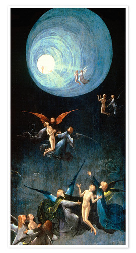 Premium poster The Ascent to the Heavenly Paradise