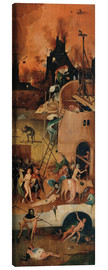 Canvas print  The Hay Wain, hell - Hieronymus Bosch