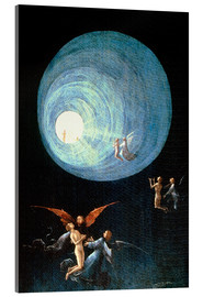 Acrylic print  The Ascent to the Heavenly Paradise (detail) - Hieronymus Bosch
