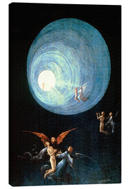 Hieronymus Bosch - The Ascent to the Heavenly Paradise (detail)