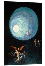 Foam board print  The Ascent to the Heavenly Paradise (detail) - Hieronymus Bosch
