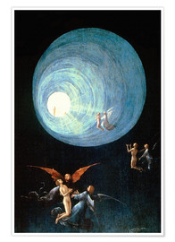 Premium poster  The Ascent to the Heavenly Paradise (detail) - Hieronymus Bosch