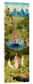 Acrylic print  Garden of Earthly Delights, the paradise - Hieronymus Bosch