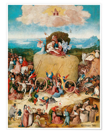 Premium poster  The Hay Wain - Hieronymus Bosch