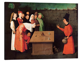 Aluminium print  The entertainer - Hieronymus Bosch