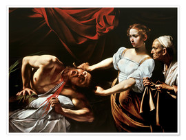Premium poster Judith slaying Holofernes