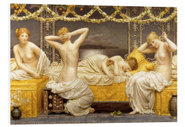 Foam board print  A summer night - Albert Joseph Moore
