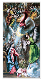 Premium poster The Annunciation