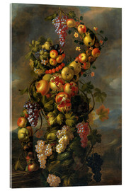 Acrylic print  Autumn (An Allegory of the Four Seasons) - Giuseppe Arcimboldo